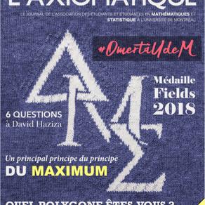 L'Axiomatique - Novembre 2018