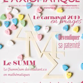 L'Axiomatique - Février 2019
