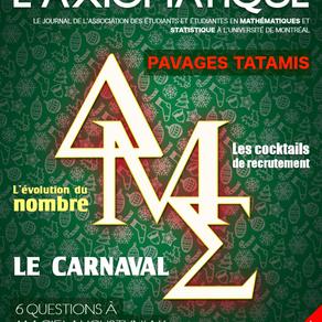 L'Axiomatique - Décembre/Janvier 2019