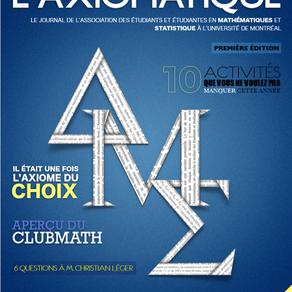 L'Axiomatique - Septembre 2018