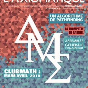 L'Axiomatique - Avril 2019