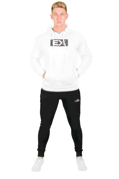 Pullover Hoodie (White)