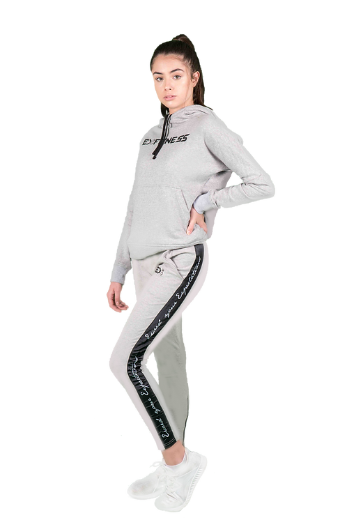 Women's Jogger Pants (Grey)