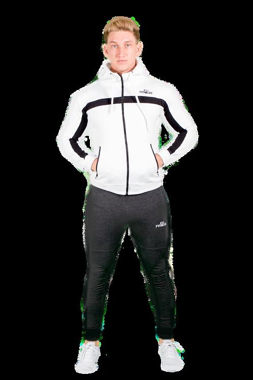 Hybrid Zip Jacket (White)