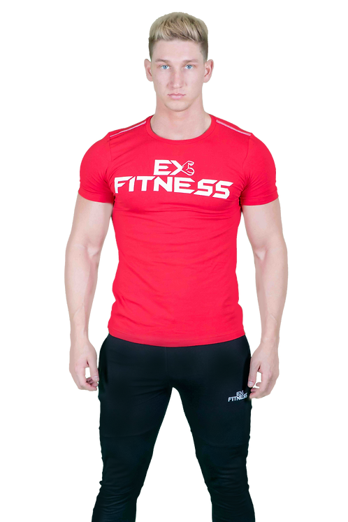 ExFit Performance Tee (Red)
