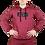 Thumbnail: Pullover Hoodie (Burgundy)
