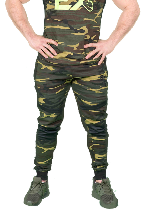 'Soldier' Camo Joggers