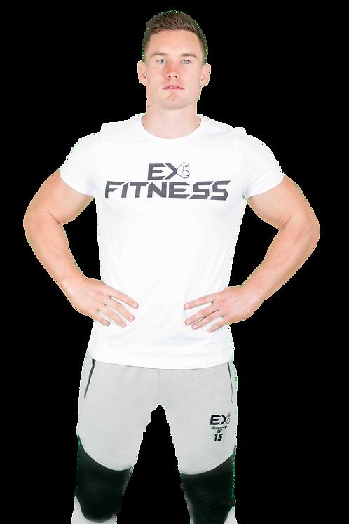 ExFit Performance Tee (White)