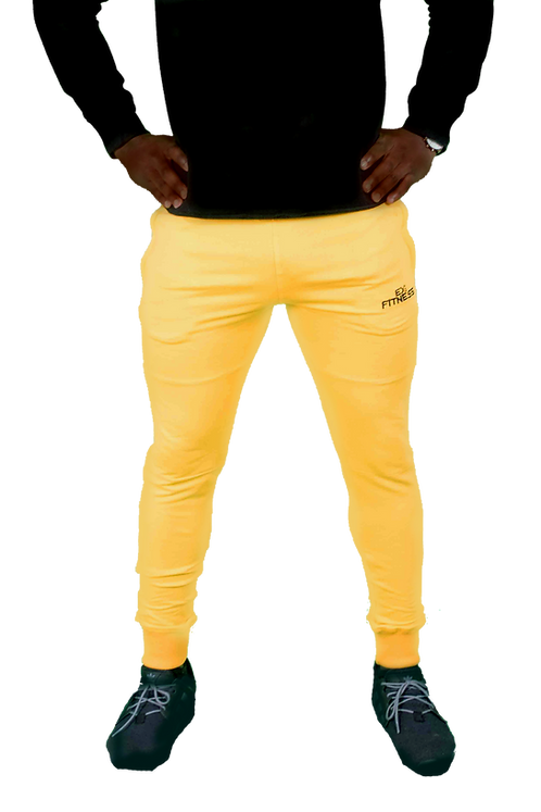 Tapered Joggers (Yellow)
