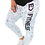 Thumbnail: Geometric Leggings (White)