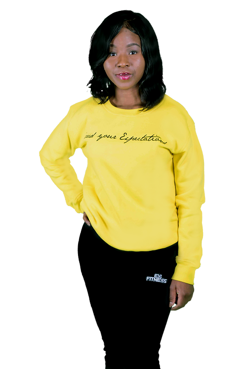 Settle Fit Crewneck (Yellow)
