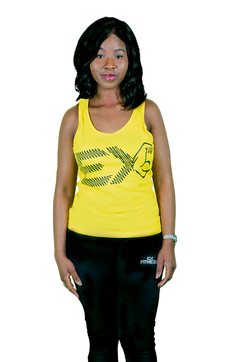 Womens Singlet (Yellow)