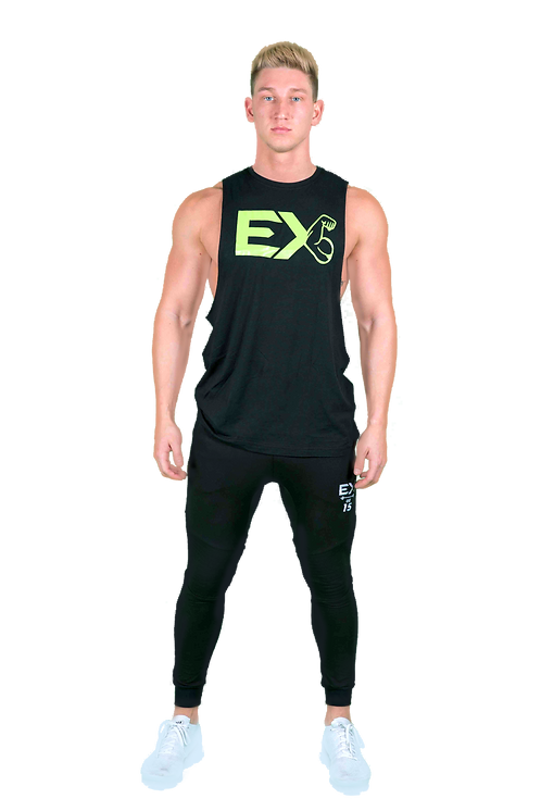 ExFit Cut-Off Tee (Black)