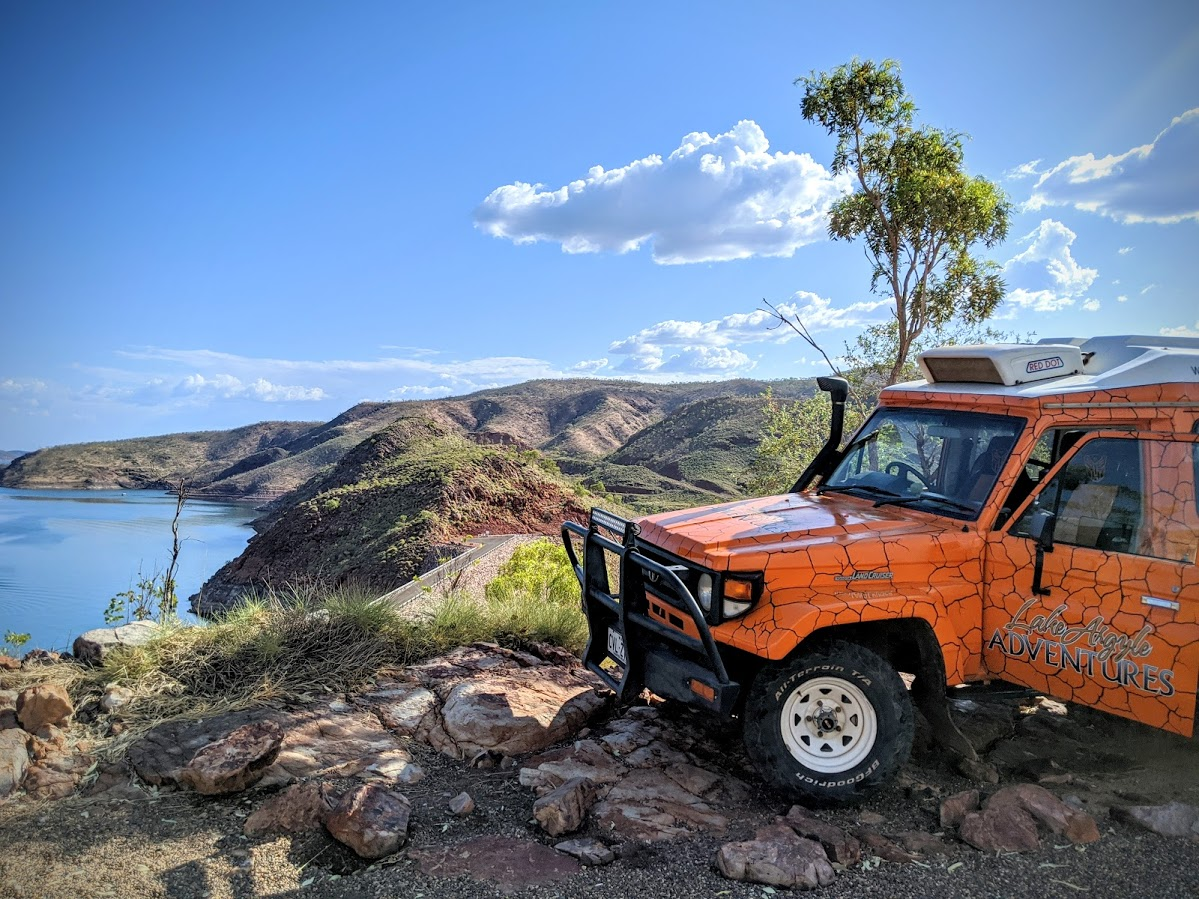 View of Lake Argyle - A Taste Of The Ord