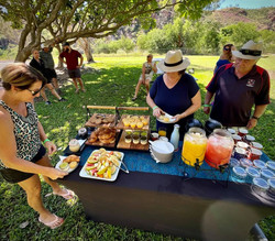 Lake Argyle Morning Tea - A Taste of the