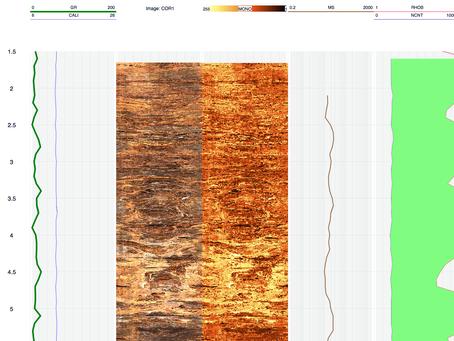 Plot true colour images in LogScope