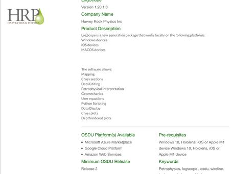 OSDU Catalogue