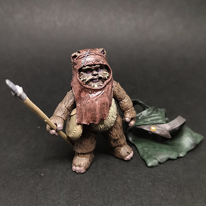 """VC27 vintage collection WICKET the EWOKS Return of the Jedi 3.75"""""""