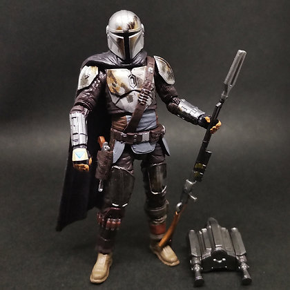 "Vintage Collection 3.75"" Mandalorian DIN DJARIN Walmart exclusive"