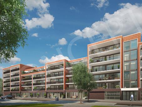 2e fase gestart 40 en 32 appartementen Veense Poort