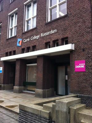 verbouw Carre College Rotterdam