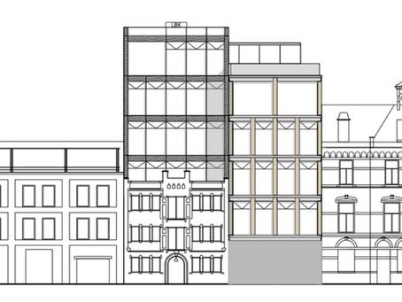 Nieuwbouw kantoorgebouw de Ruyterkade te Amsterdam