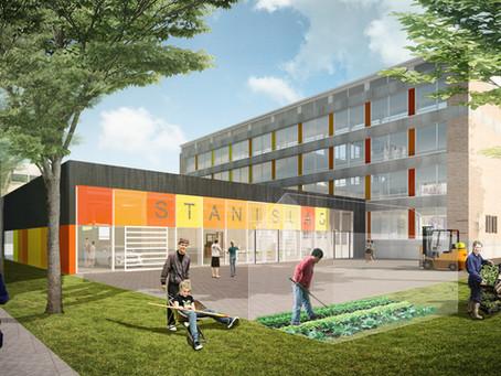 Verbouw Stanislas college