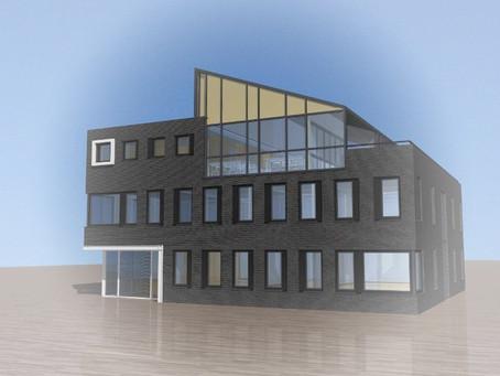 Nieuwbouw kantoorgebouw Adullam te Barneveld