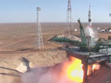 "Запуск корабля ""Союз МС -17"""