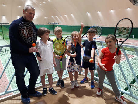 Детский теннисный турнир