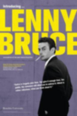 H011e Lenny Bruce exhibition flyer M6.jp