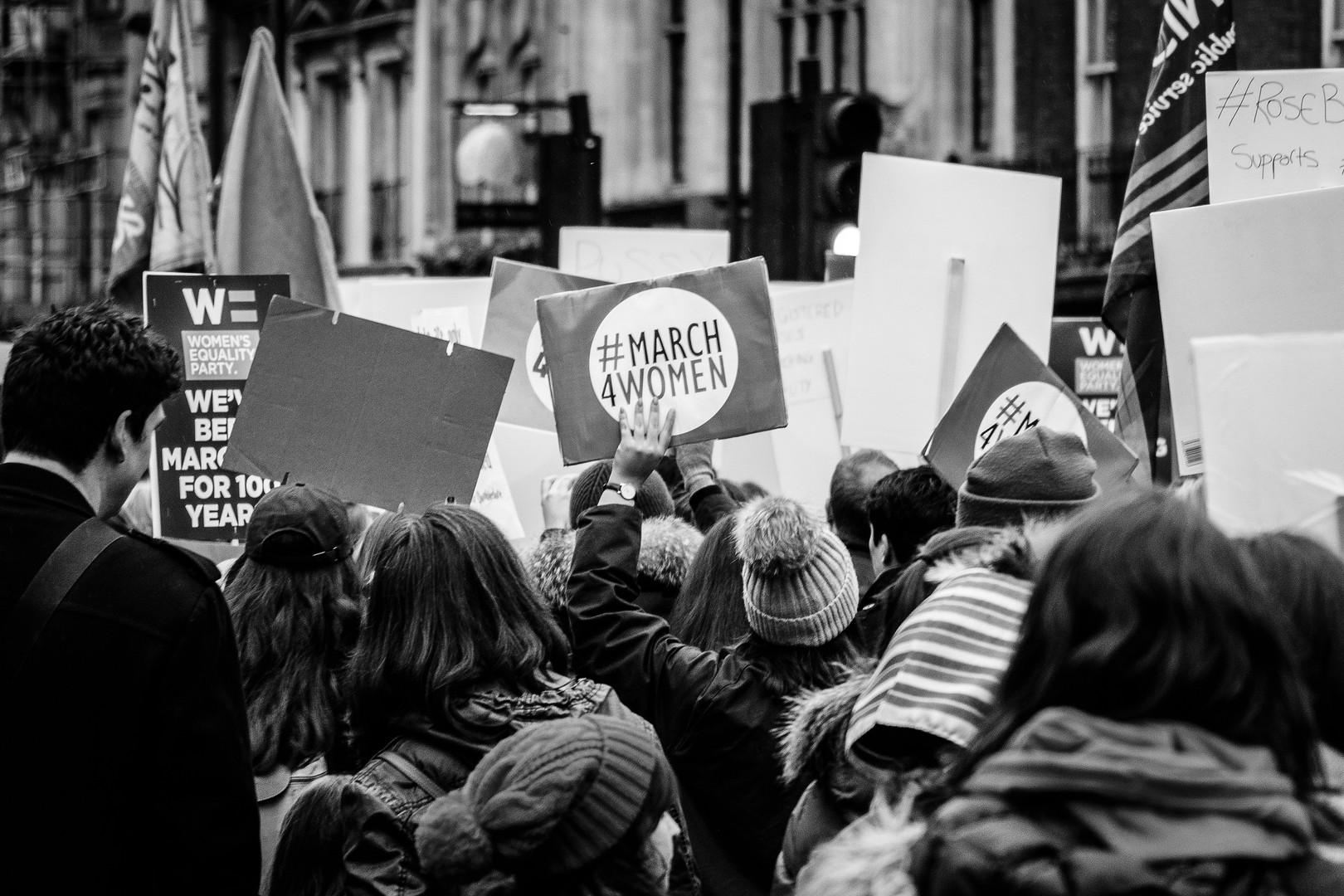 Women's March photo by Giacomo Ferroni