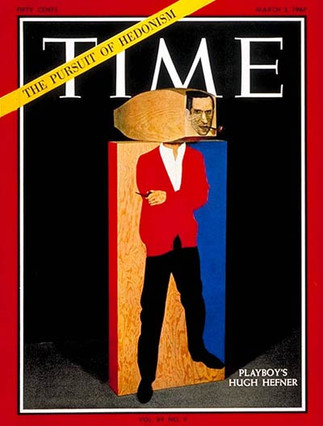 Hef on the cover of TIME magazine, March 3, 1967