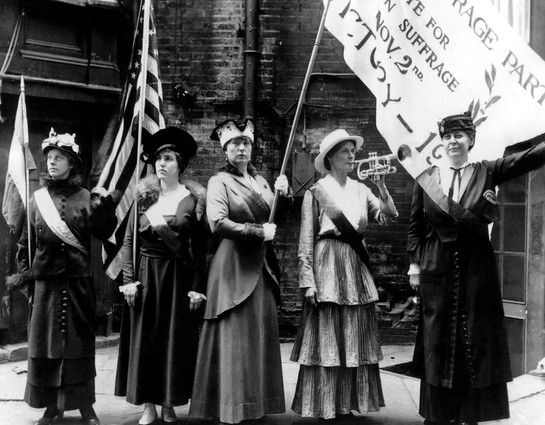 Suffragettes in San Francisco
