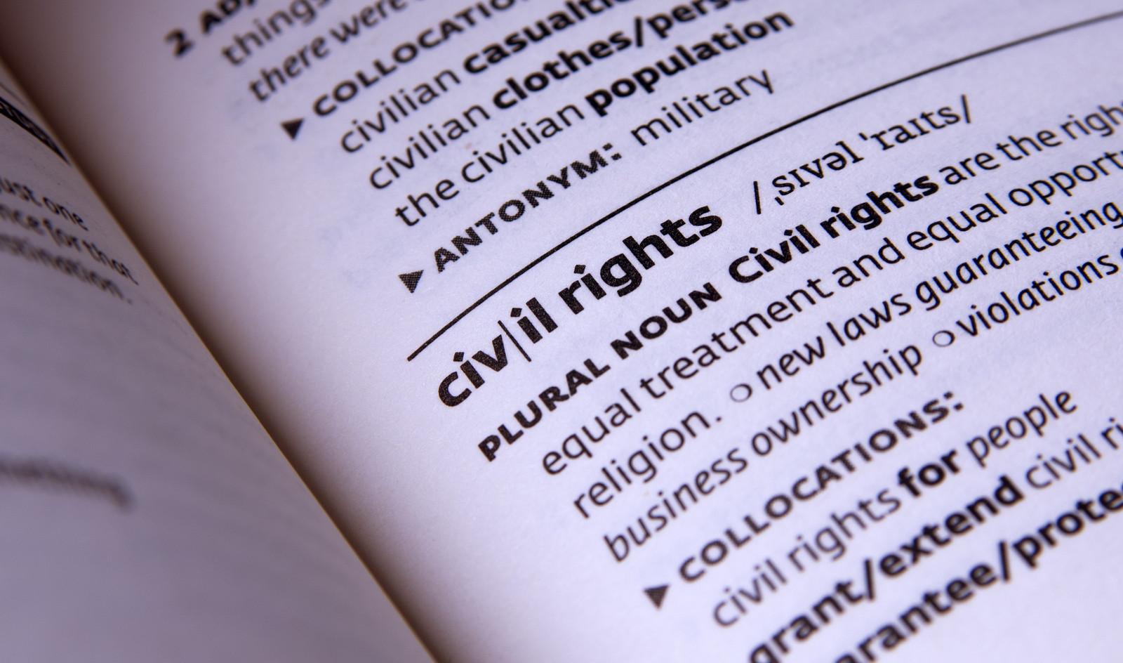 civil rights definition