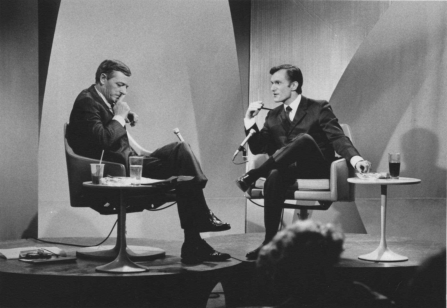 Hef appears on Firing Line with William Buckley, Jr