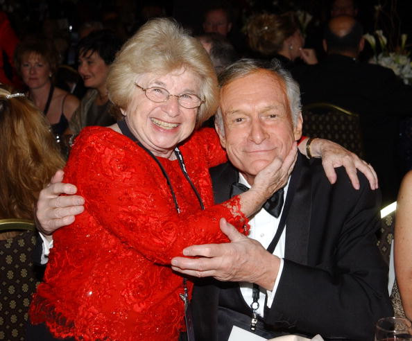 Dr. Ruth Westheimer and Hef