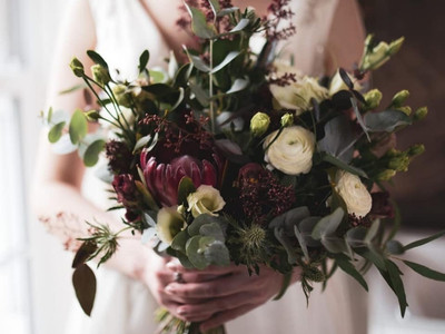 Burgundy Bridal Bouquet.JPG