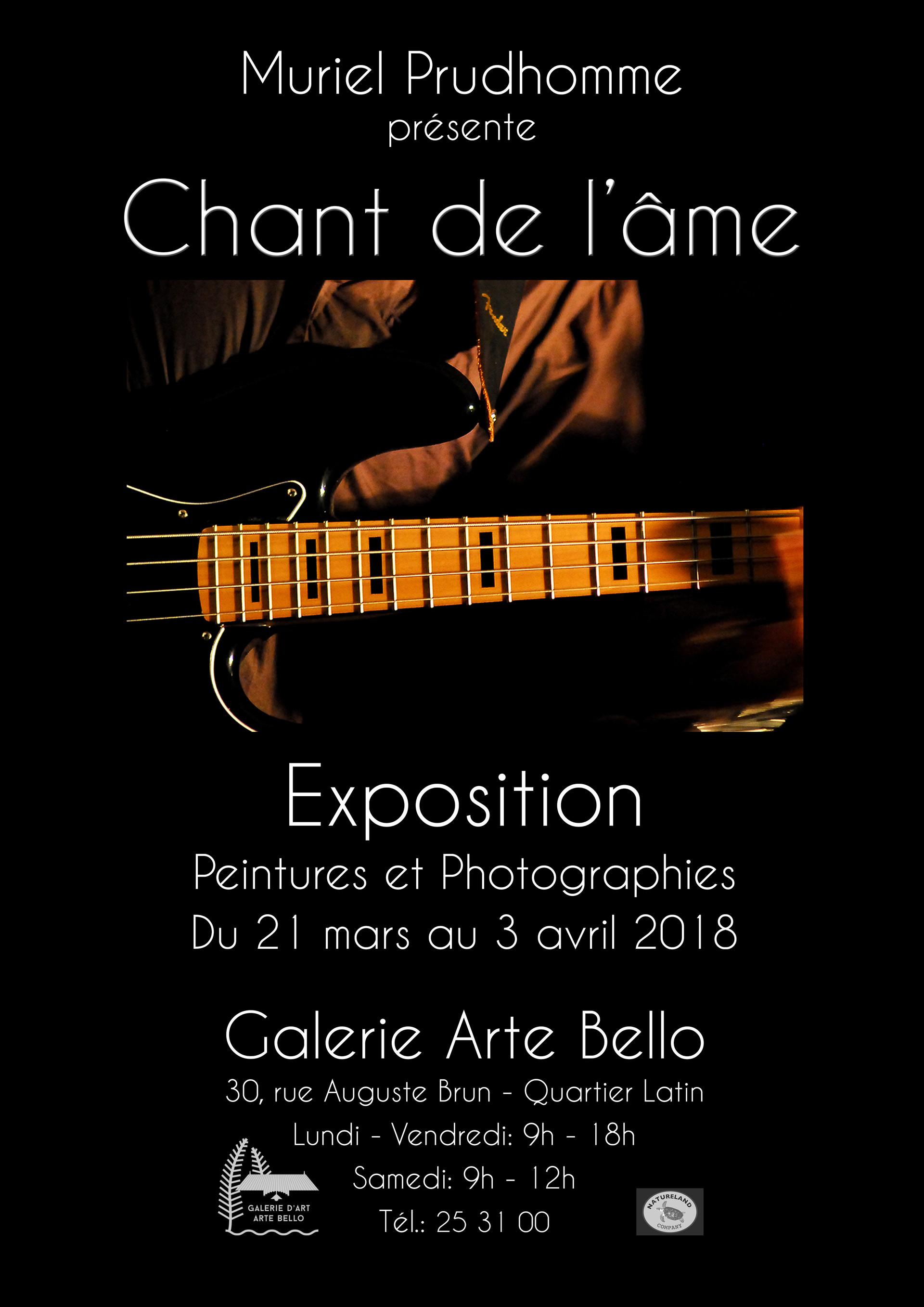 """EXPOSITION """"Chant de l'âme"""""""