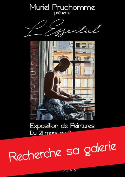 "L'Exposition ""L'Essentiel"" recherche sa galerie d'art."