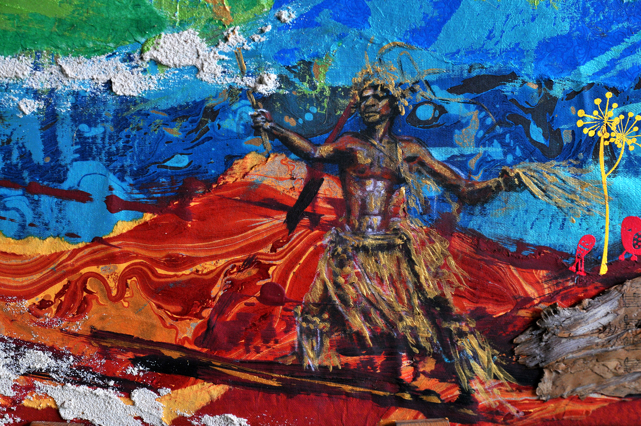 Danseur Mélanesien