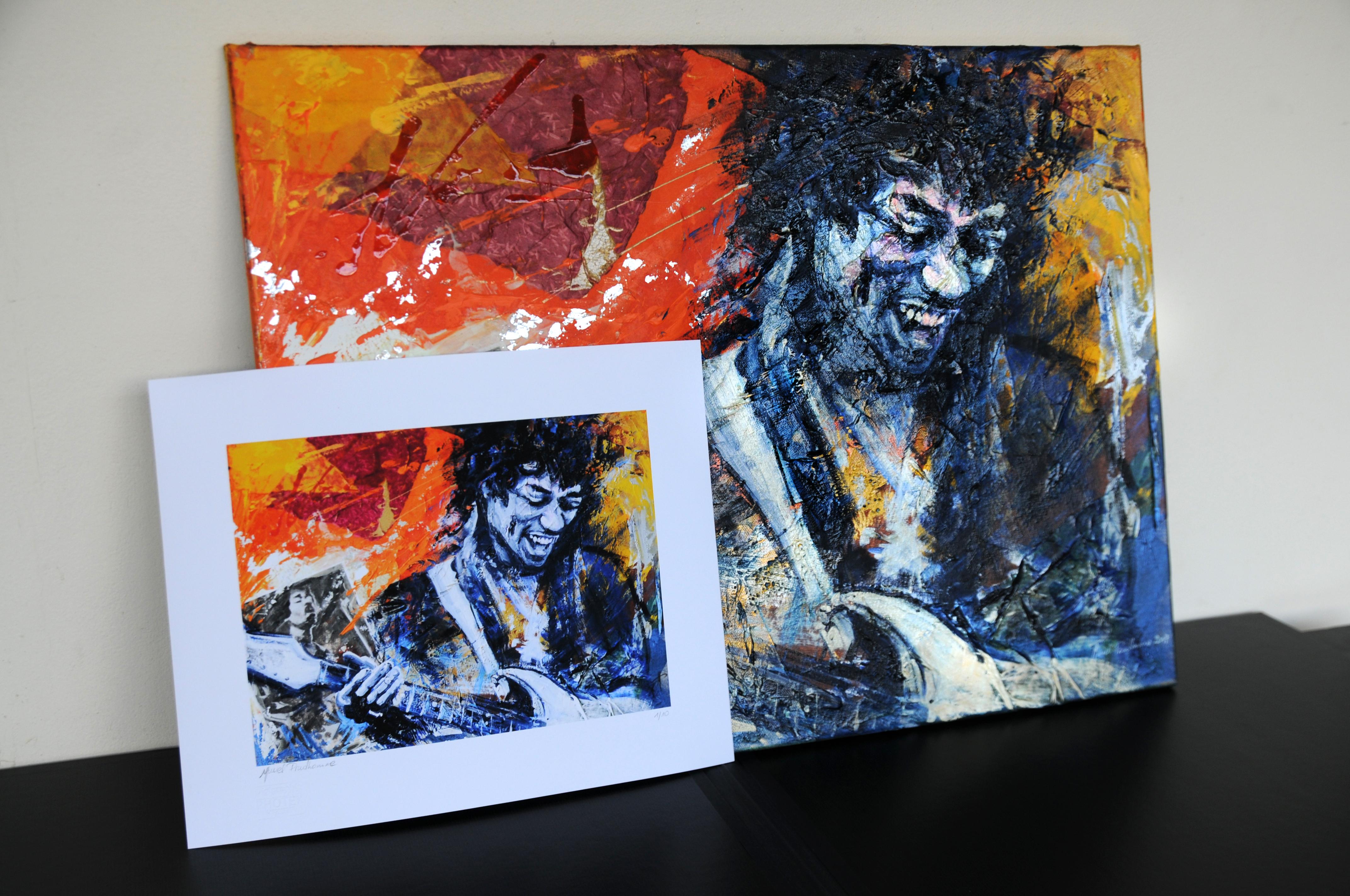 DIGIGRAPHIE Jimi Hendrix