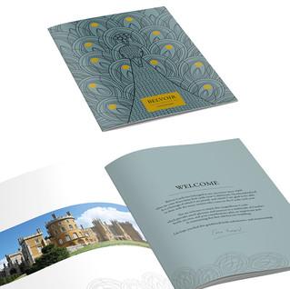 Concept for Belvoir Castle Property Brochure