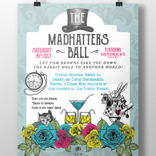 'Mad Hatters' annual ball