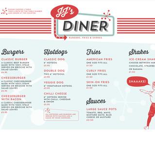 Branding and menu