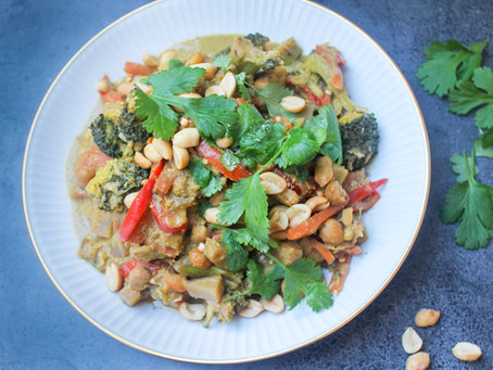 Spicy thai curry