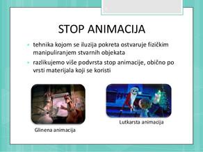 Stop animacija u 8. razredu