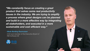 Driving real productivity gains for the construction industry: an interview with Mads Bording