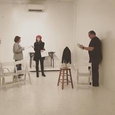 Rehearsing 50th & 4th