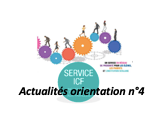Actualités orientation n°4